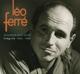 Ferre,Leo :Monsieur Mon Passe 1950-1960