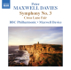 Davies,Peter Maxwell/BBCP :Sinfonie 3/Cross Lane Fair