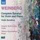 Kalinovsky,Grigory/Goncharova,Tatiana :Sämtliche Sonaten für Violine und Klavier
