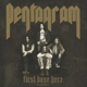 Pentagram :First Daze Here (Black Vinyl+MP3)