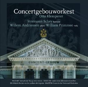 Concertgebouw Orchestra/Klemperer,Otto