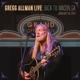 Allman,Gregg :Gregg Allman Live: Back To Macon,Ga