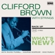 Brown,Clifford :What's New?