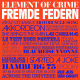 Element Of Crime :Fremde Federn