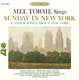 Torme,Mel :Sunday In New York & Other Songs About New York