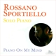 Sportiello,Rossano :Piano On My Mind