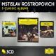 Rostropowitsch,Mstislav :Rostropovich-3 Classic Albums (Ltd.Edt.)