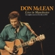 McLean,Don :Live In Manchester