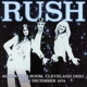 Rush :Agora Ballroom,Cleveland Ohio 16th December 1974