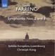 König,Christoph/Solistes Européens,Luxembourg :Sinfonien 2+3