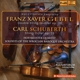 Hoffmeister Quartett/Soloist of Wroclaw Baroque Or :Gebel:Double Sting Qunitet op.28; Schuberth