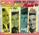 Darin,Bobby/Boone,Pat/Rydell,Bobby/Presley,Elvis :Four by Four-Teenage Heartthrobs