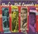 Berry,Chuck/Vincent,G/Lewis,Jerry L/Little Richard :Four By Four - Rock'n'Roll Legends
