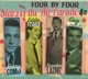 Como,Perry/Fisher,Eddie/Laine,Frankie/Mitchell,Guy :Four By Four - Stars Of The Hit Parade