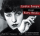Lenya,Lotte :Lotte Lenya Sings Kurt Weill