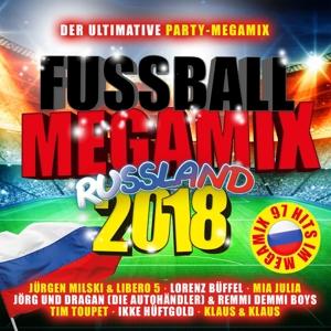 VARIOUS - FUSSBALL MEGAMIX RUSSLAND 2018