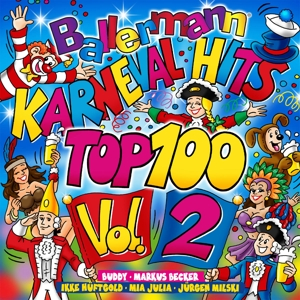 VARIOUS - BALLERMANN KARNEVALHITS TOP 100 VOL.2