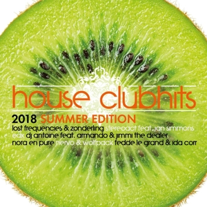VARIOUS - HOUSE CLUBHITS SUMMER EDITION 2018