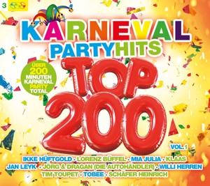 VARIOUS - KARNEVAL PARTY HITS TOP 200