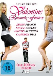 PFEIFFER/KEITEL/DIAZ/RYAN/MILL - VALENTINE ROMANTIK FILMBOX (5 FILME AUF 2 DVD)