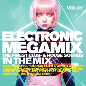 VARIOUS - ELECTRONIC MEGAMIX VOL.1 (THE FINEST CLUB-&HOUSE S