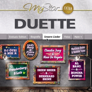VARIOUS - MY STAR - EXTRA (DUETTE)