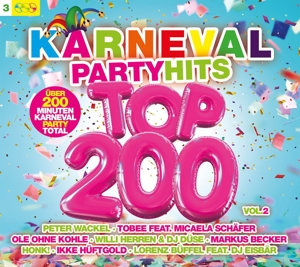 VARIOUS - KARNEVAL PARTY HITS TOP 200 VOL.2