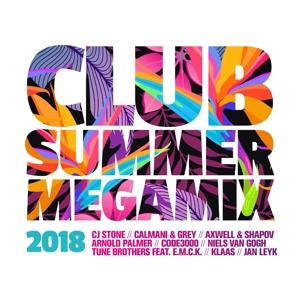 VARIOUS - CLUB SUMMER MEGAMIX 2018