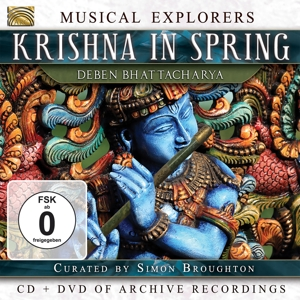 BHATTACHARYA,DEBEN - KRISHNA IN SPRING (CD + DVD)