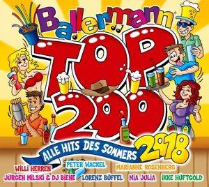 VARIOUS - BALLERMANN TOP 200 (ALLE HITS DES SOMMERS 2018)