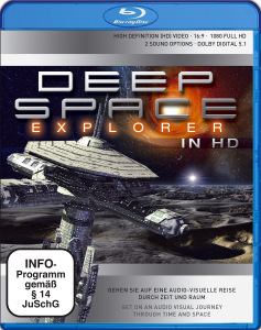 VARIOUS - DEEP SPACE EXPLORER IN HD-BLU RAY