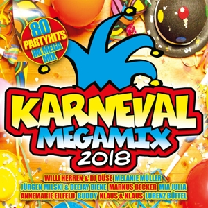 VARIOUS - KARNEVAL MEGAMIX 2018
