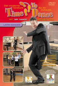 HULL,MICHAEL - TIME TO DANCE-LATIN DANCES DVD