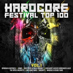 VARIOUS - HARDCORE FESTIVAL TOP 100 VOL.1