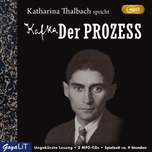 THALBACH,KATHARINA - DER PROZESS (UNGEKÜRZTE LESUNG)