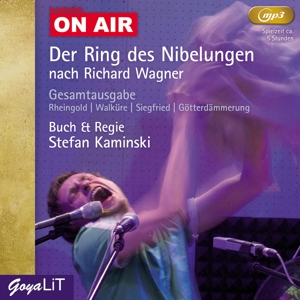KAMINSKI,STEFAN - DER RING DES NIBELUNGEN (MP3-CD)