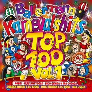 VARIOUS - BALLERMANN KARNEVALHITS TOP 100 VOL.1