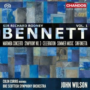 Sir Richard Rodney Bennett - Orchesterwerke Vol. 1