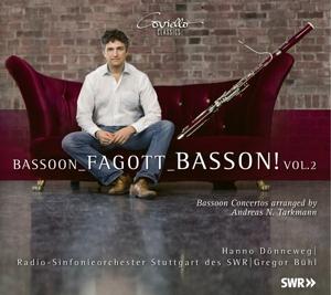 Bassoon-Fagott-Basson! Vol. 2 - Konzertbearbeitungen von Werken von Jolivet, Saint-Saens, Fauré & Bitsch