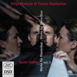Camille Saint-Saens - Werke für 2 Klaviere und Klavier zu 4 Händen, Vol. 3