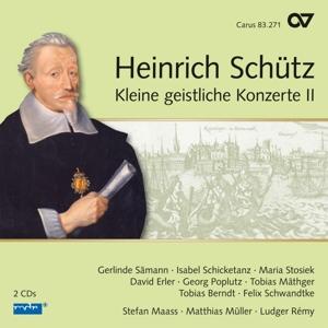 Heinrich Schütz - Kleine Geistliche Konzerte II (Schütz-Edition Vol. 17)