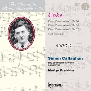 Roger Sacheverell Coke - Romantic Piano Concerto Vol. 73 - Klavierkonzerte Nr. 3-5