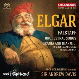 Edward Elgar - Falstaff, Orchestral Songs u.a.