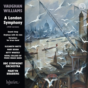 Ralph Vaughan Williams - A London Symphony/Sound sleep/Orpheus with his lute/Variations for Brass Band