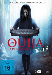 VARIOUS - DAS OUIJA EXPERIMENT TEIL 1-6 (6 FILME AUF 2 DVD)