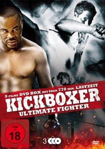 GRUNER/BANKS/MULLIN/RUEL/PHILL - KICKBOXER ULTIMATE FIGHTER (9 FILME AUF 3 DVDS)