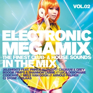 VARIOUS - ELECTRONIC MEGAMIX VOL.2 THE FINEST CLUB-& HOUSE