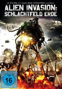 POHLKAMP/LICCIARDI/WOODBERRY/V - ALIEN INVASION: SCHLACHTFELD ERDE (3 FILME)