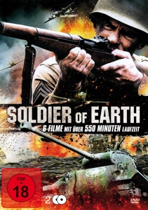 VARIOUS - SOLDIER OF EARTH (6 FILME AUF 2 DVDS)