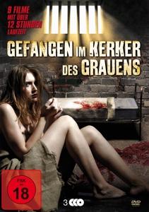 VARIOUS - GEFANGEN IM KERKER DES GRAUENS (9 FILME AUF DVD)
